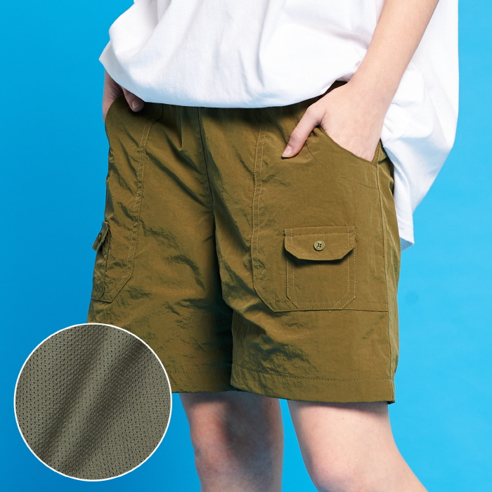 [ WEEKLY SPECIAL PRICE ] XTP002 포켓 쇼츠 (KHAKI)